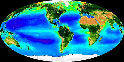 Image of The Global Biosphere (Jun 98 - Sep 01)
