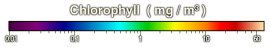 chlorophyll color scale