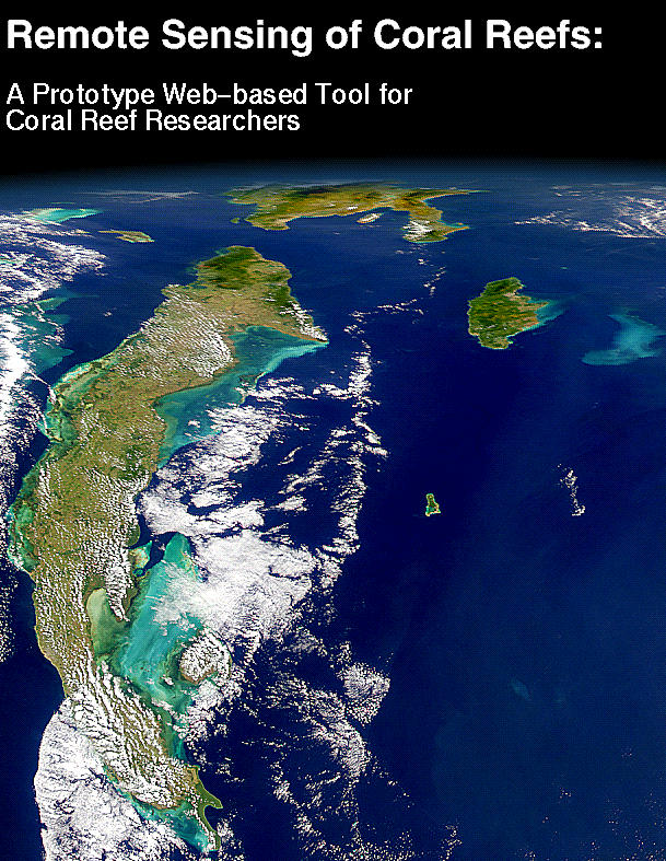 Link to Remote Sensing of Coral Reefs Web Tool