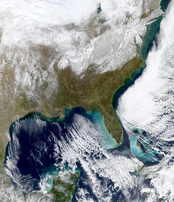Eastern United States Blizzard 2016