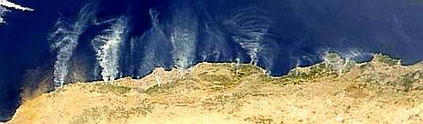 Image of Algerian coast