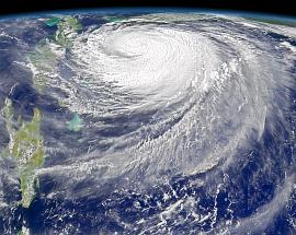 SeaWiFS view of Hurricane Frances on 3 September 2004