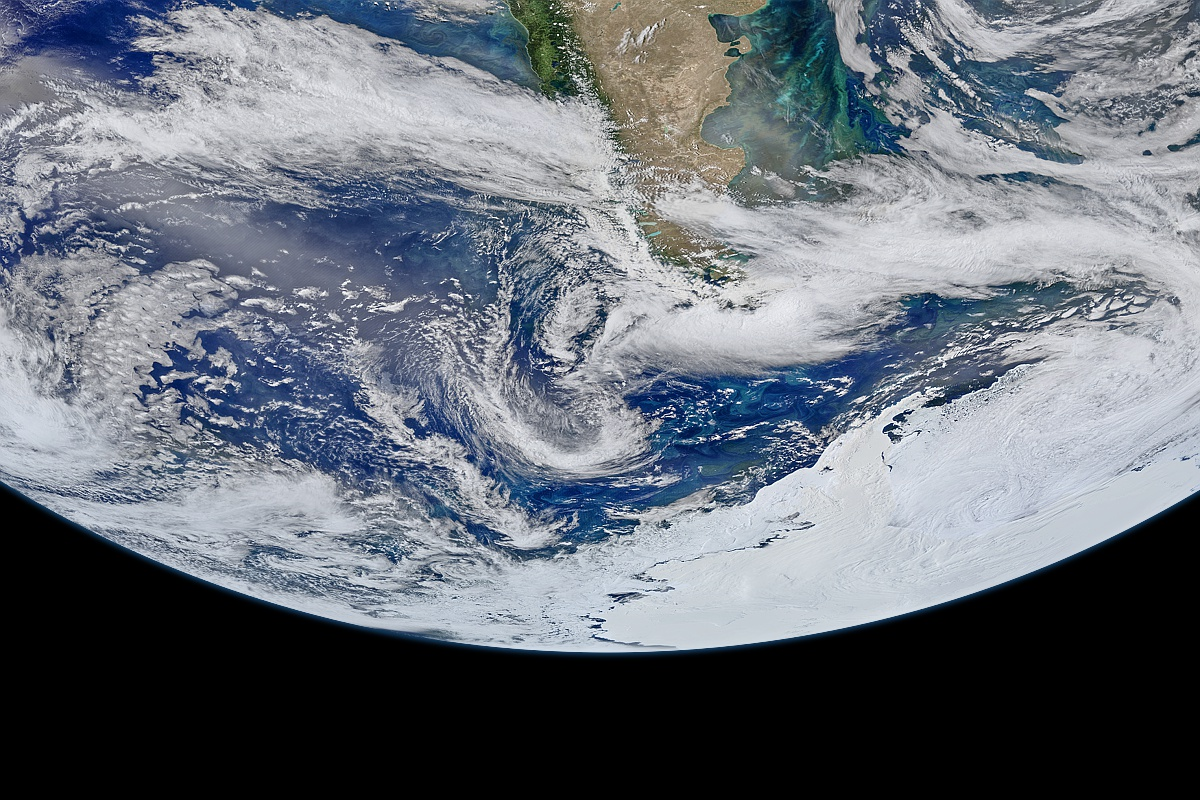 The Drake Passage VIIRS-SNPP
