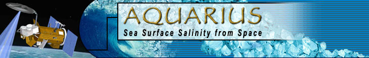 Aquarius Mission Banner